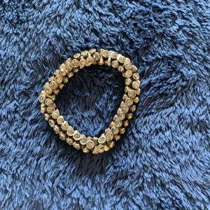 Loft bronze stretch bracelet